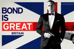 Bond Is Great, and So Is Britain, Says Global Tourism  Campaign
